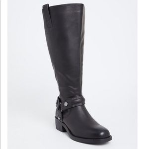 Torrid Faux Leather Over the knee Boots
